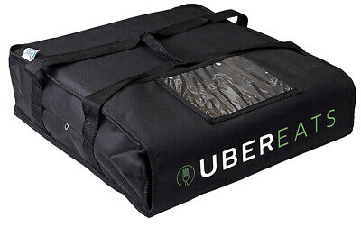 Uber Eats Pizza Delivery Bag Pizza Carrier Foam Padded Interior