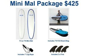 Surfboard Mini Mal Package for beginner to intermediate Malaga Swan Area Preview