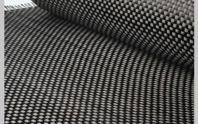 """Carbon Fiber Fabric , Plain Weave 50"""" 3k 5.7oz - 10 Yards"""