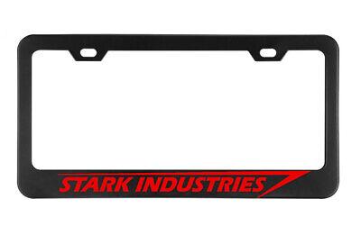 STARK INDUSTRIES Military License plate frame Black Metal Holders