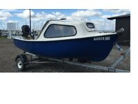 Fishing Pleasure Boat, 12 feet lovely condition, 2.5 hp Suzuki four stroke little used