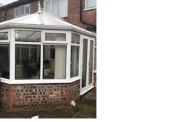 Conservatory (fully dismantled and ready to collect)