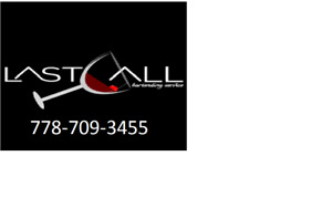 Last Call® Event Bartender Services - Wedding Corporate Private