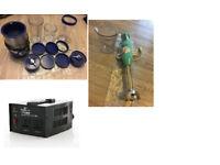 3 items: Rocket blender (12 pc set), Hand blender, and Voltage transformer -USA to UK and vice versa
