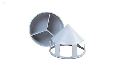 Belgium Water Drinker or Grit Feeder for Racing Pigeons, Poultry etc 1.5 litre