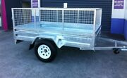 NEW HOT DIPPED 8X5 GAL TILT TRAILERS ALL SIZES IN STOCK . Southport Gold Coast City Preview