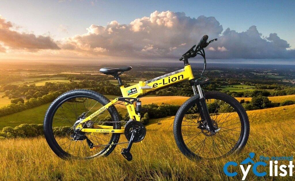 E-LION Folding Electric Bike Mountain Bicycle E-Bike CE 10Ah 250W Motor  Ebike | in Rhiwbina, Cardiff | Gumtree