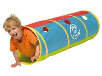 Worlds Apart Pop Up Play Tunnel by Kid Active (Very Good Condition)