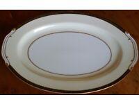 Wako 14.5in./36.5cm Medium China Serving Platter - Design 2385