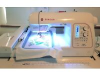 Singer Futura XL580 Embroidery & Sewing Machine