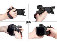 Spider Light Camera Hand Strap (Black)