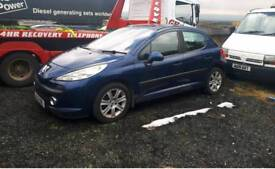 2008 Peugeot 207 1.4 hdi for parts or repair