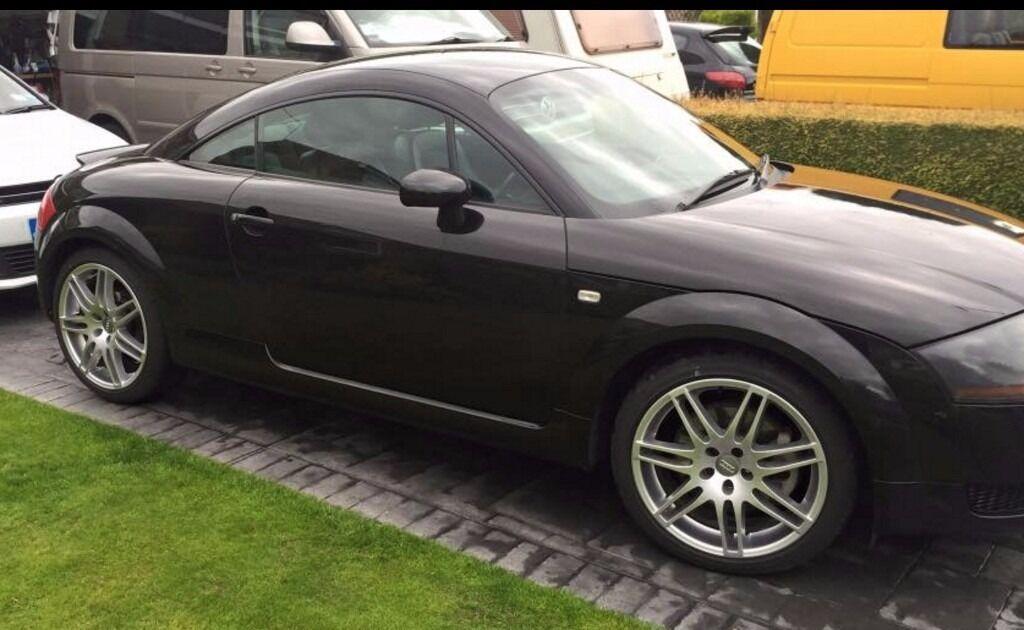 audi tt mk1 2001 1 8 turbo 225 very tidy car metallic black 19 rs4 alloys 125k in. Black Bedroom Furniture Sets. Home Design Ideas