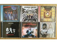 Thin Lizzy-6 CD's