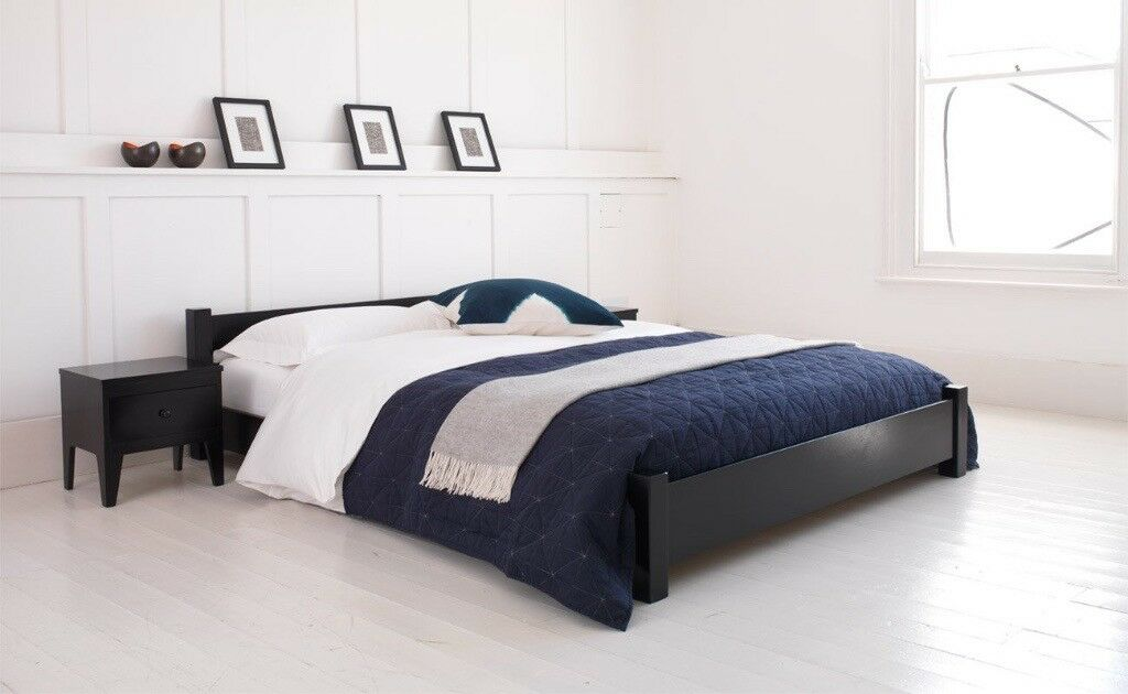 King Size Bed frame only by Warren Evans Furniture (London)