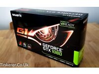 GIGABYTE GeForce GTX 1080 G1 Gaming - GV-N1080G1 GAMING-8GD - Graphics Card
