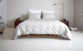 Warren Evans Single Studio Wood Bed & Luxury Mattress original price £630