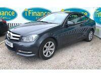 CAN'T GET CREDIT? CALL US! Mercedes-Benz C220 2.1 CDI Executive SE Auto - £200 DEPOSIT, £74 PER WEEK