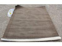 Approximately 170 x 230 cm Next 100% Wool Rug Dark Brown RRP £195
