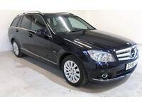 2010 MERCEDES C- CLASS C250 CDI BLUEFFICIENCY ELEGANCE 200 BHP 6 SPEED £130 ROAD TAX PRISTINE CAR