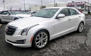 2015 CADILLAC ATS SEDAN AWD TURBO PERFORMANCE CUIR ROUGE,TOIT GP