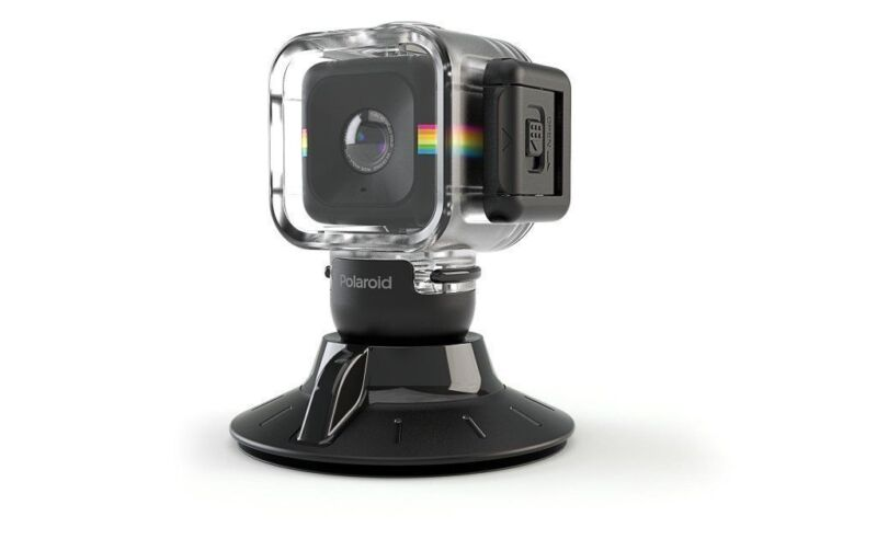 Polaroid Suction Cup Mount for the Polaroid CUBE HD Action Lifestyle Camera - In