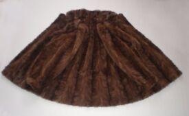 Beautiful Ladies Real Mink Fur Jacket Coat, size 12-14-16