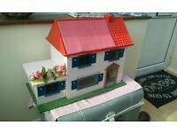 Triang? TLC 16th scale dollhouse in need of a decorative tidy up