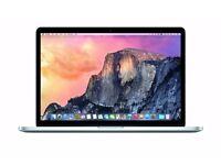 """Apple MacBook Pro Retina 15"""" (Intel Core i7 2.2 GHz, 16GB, 256 GB SSD, 2015 MJLQ2B/A & Applecare"""