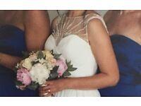 Enzoani Beautiful wedding dress uk 8