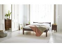 REDUCED King sized bedroom set in solid wood for £365!!