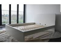 Nice white Ikea Double Bed frame (delivery available)