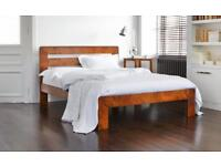 "Warren Evans Super King ""Hazel"" bed and tempur mattress"