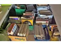 HUGE MIXED VINYL RECORDS LP JOBLOT 3000 CIRCA