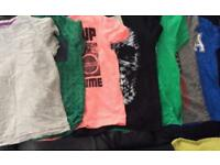 Bundle of 7 boys t shirts, all age 5 from Next and River Island