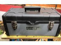 Forge steel tool box