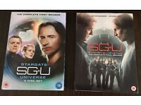Stargate Universe Seasons 1 & 2 inc Both Slipcases