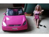 Barbie Doll & Barbie Car