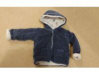 Baby Boys Coat 9-12 months M&S