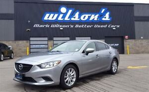 2014 Mazda MAZDA6 GX $63/WK, 4.74% ZERO DOWN! REAR CAMERA! BLUET