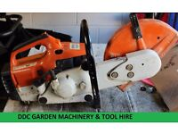 Lawn mower/garden machinery repair service disc cutters, chainsaws etc