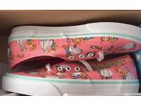 VANS Disney Toy Story Bo Beep and Woody Trainers