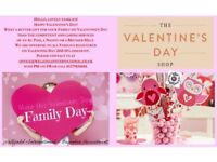 Valentine's Day Discount Families Registrations