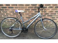 19 inch Claud Butler Hybrid bicycle ladies BIKE Women bicycle