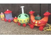 In The Night Garden - Ninky Nonk with Iggle Piggle kids toy
