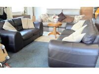 Leather Sofas (36) ~ Can Deliver