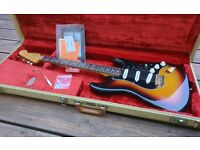 Fender Stevie Ray Vaughan Stratocaster (SRV) - 1998, all case candy/paperwork