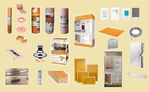 Schluter Nuheat Laticrete Products - Wholesale Contractor Prices - Ditra , Ditra Heat , XL , Kerdi Membrane , Thermostat