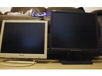 2 Computer Monitors around 15inch ( Re advertised as phone was broken)