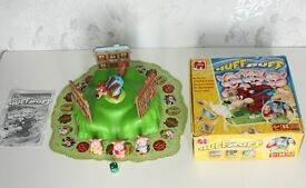 Huff and Puff Electronic Board Game By Jumbo The Three Little Pigs